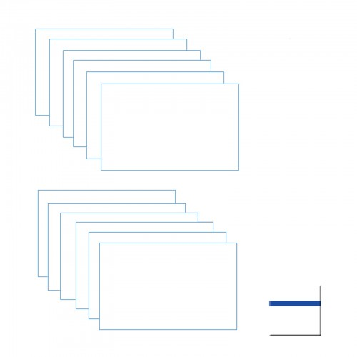 white-blue-engraving-double-color-sheet
