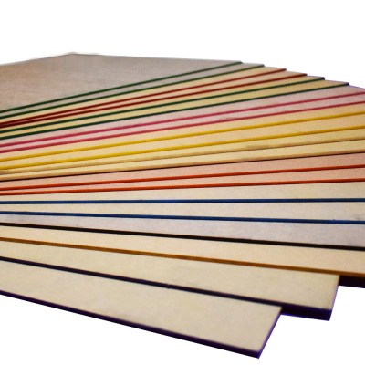 "Colored Cast Acrylic Sheet Plastic Sheet For Engraving (Package of 20 Pieces, 12"" × 20"" × 0.118"", no-Transparent)"