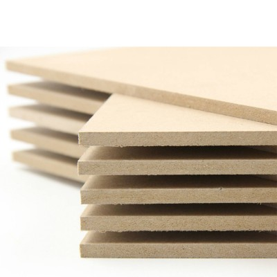 "3mm MDF Board - Wood Board, Medium Density Fibreboard ( Package of 20 Pieces, 12"" × 12"" × 1/8"")"
